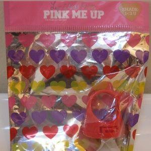 Vs pink lipgloss ring NIB